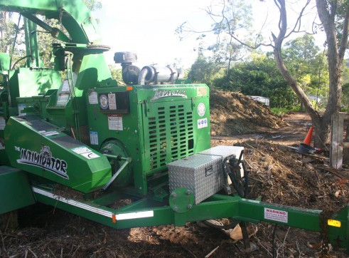 18 inch Bandit Whole tree Chipper 3