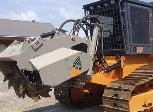 CMI 450 HP Tracked Mulcher with Stump Head 1