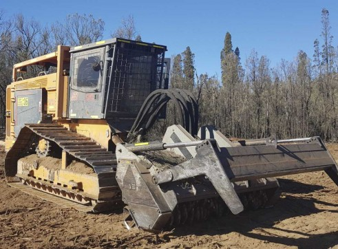 CMI 550 HP Forestry Mulcher 3