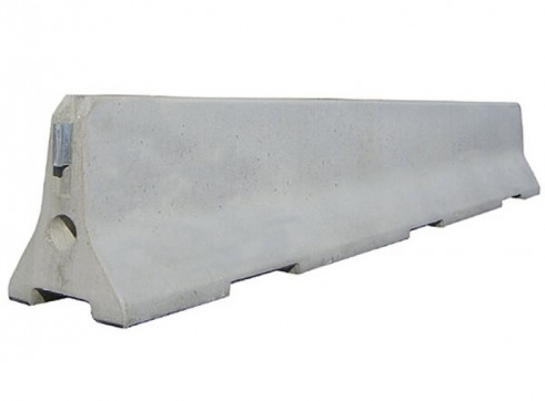 Concrete Crash Barriers 1