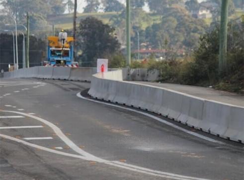 Concrete Crash Barriers 2