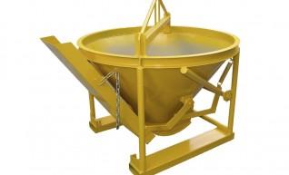 Concrete kibble bucket 0.5m3 1