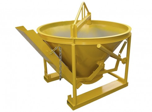 Concrete kibble bucket 0.5m3 1