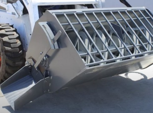 Concrete Mixer Bucket - Skidsteer Attachment 1