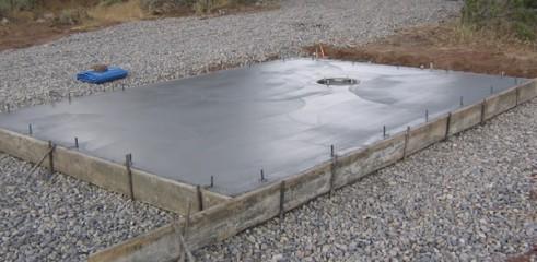 Concrete Slab Prep/ Construction 1