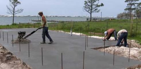 Concrete Slab Prep/ Construction 2