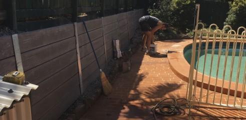 Concrete Sleeper Retaining Wall 2