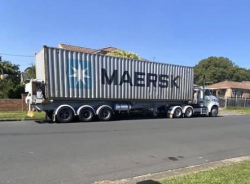 Container Side Loader Trailer 3