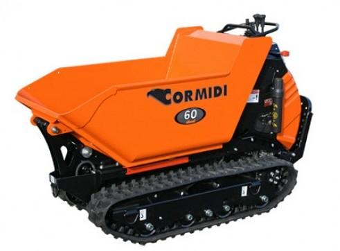 Cormidi C6.60 600kg Series Diesel Tracked Dumper 1