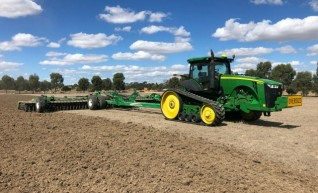 Corowa Direct Drill & Windrowing 1