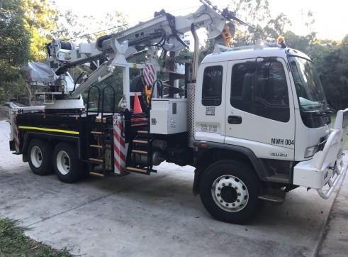 Crane Borer Truck 3