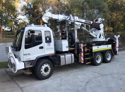 Crane Borer Truck 2