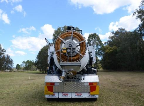 6000L Vacuum Excavation Trucks 4