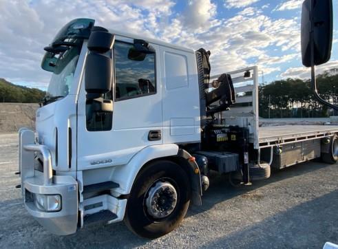 Crane truck hire 2