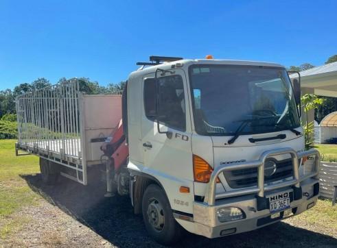Crane truck hire 3