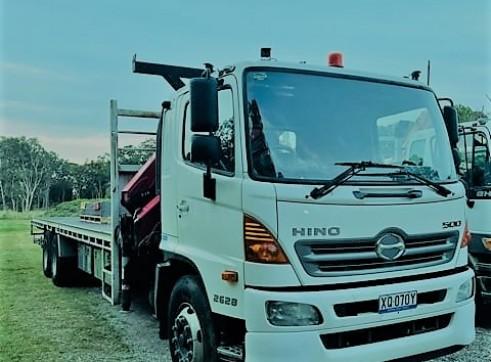 Crane truck hire 5