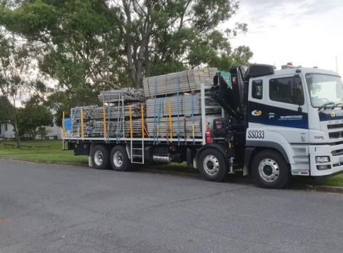Crane/Hiab Truck 1