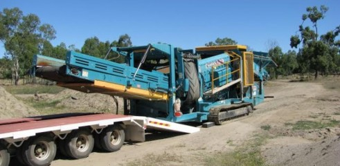 Crushing and Screening Contractor 1