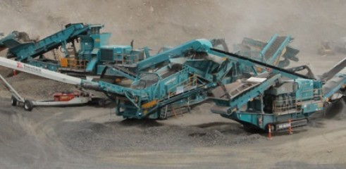 Crushing and Screening - hourly or per tonne rates available 1