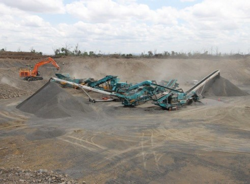 Crushing and Screening Plant 5