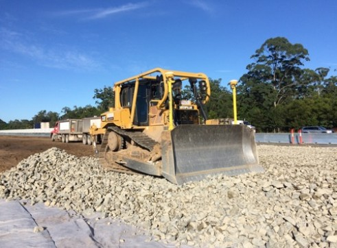 D6T Dozer w/GPS and scrub protection 12