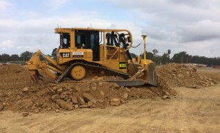 D6T Dozer w/GPS and scrub protection 1