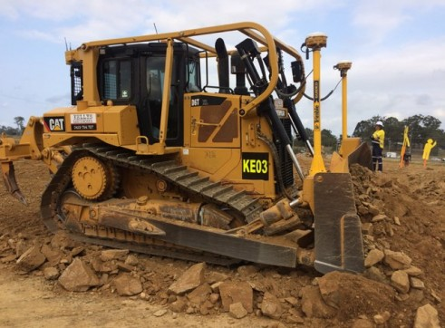 D6T Dozer w/GPS and scrub protection 2