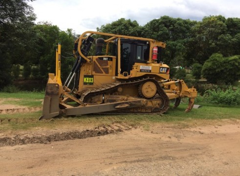D6T Dozer w/GPS and scrub protection 6