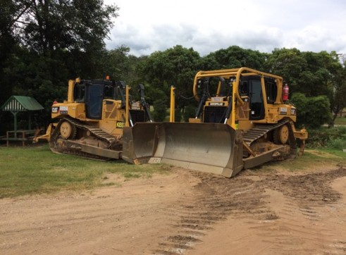 D6T Dozer w/GPS and scrub protection 7