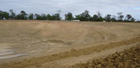 Dam Construction   Greenvale Dam 16