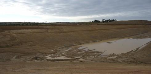 Dam Construction   Greenvale Dam 2