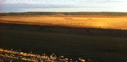 Dam Construction   Spring Rise Dam 1