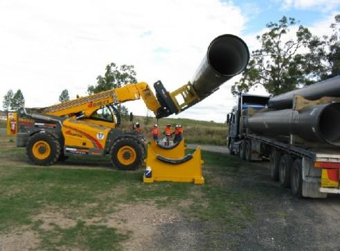 dieci 12 tonne telehandler 1