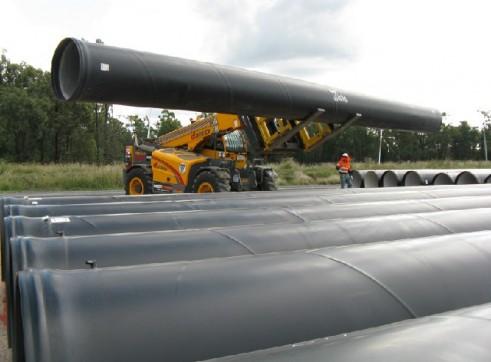 dieci 12 tonne telehandler 2