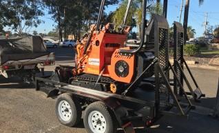 Dingo / Kanga / Cougar Mini Loader / Excavator all in one 1