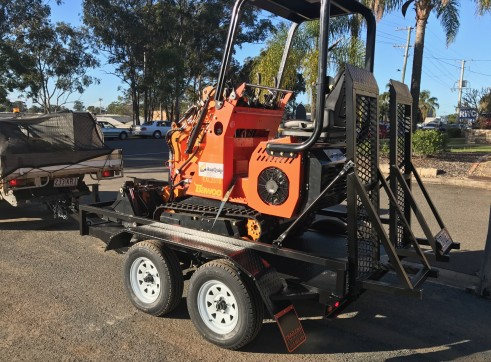 Dingo / Kanga / Cougar Mini Loader / Excavator all in one