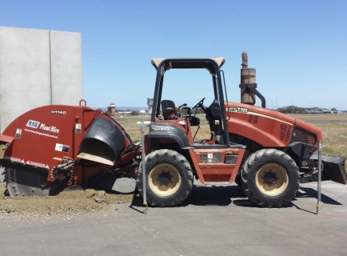 115HP Ditch Witch RT115 Rock Saw 5