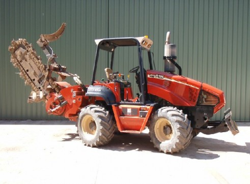 Ditch Witch RT115 Trench Digger with Conveyor 5