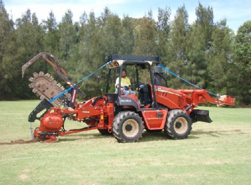 95HP Ditch Witch Vibratory Plough 5