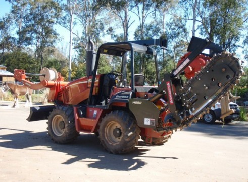 95HP Ditch Witch Vibratory Plough 9