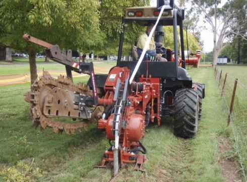 95HP Ditch Witch Vibratory Plough 7