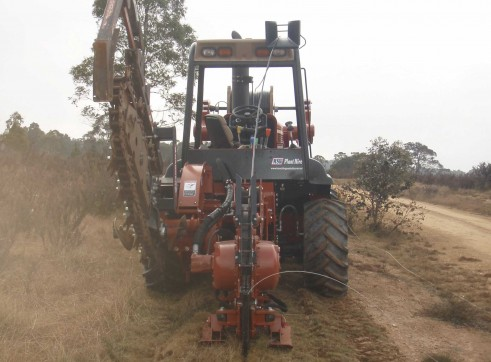 Ditch Witch RT95 Vibratory Plough 9