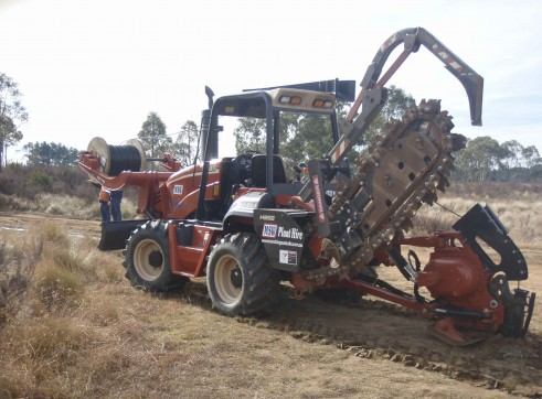 Ditch Witch RT95 Vibratory Plough 10