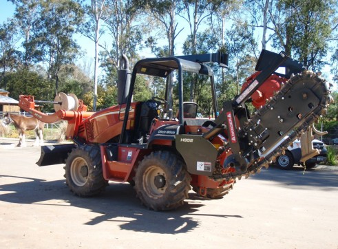 Ditch Witch RT95 Vibratory Plough 5