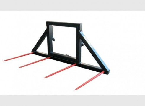 Double Round Bale Fork 1