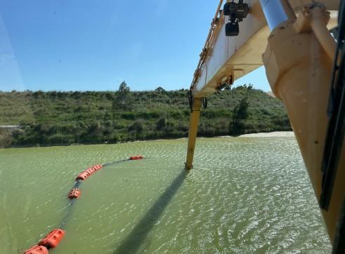 Dredge pump run off Longreach Excavator 2