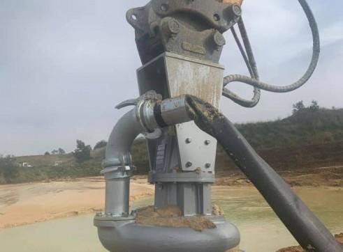 Dredge pump run off Longreach Excavator 3