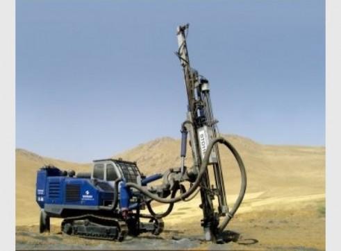Drilling rig - Soosan Hydraulic Crawler Drills 1