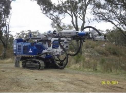 Drilling rig - Soosan Hydraulic Crawler Drills 2