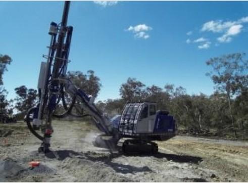 Drilling rig - Soosan Hydraulic Crawler Drills 3